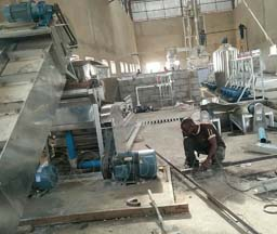 NIGERIA ROYAL MILLS AND FOODS LTD - 1T/H OUTPUT CASSAVA STARCH PROCESSING LINE