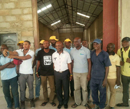 Nigeria 200Tons/day Input Cassava Starch Processing Plant