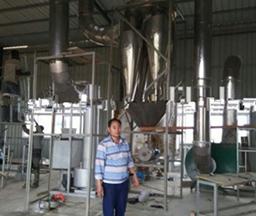 Congo 400Tons/day Input Cassava Flour Processing Plant