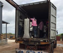 Nigeria 1Tons/hour Output Garri Processing Plant