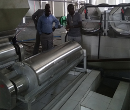 Zambia 100Tons/day Input Cassava Starch Processing Line