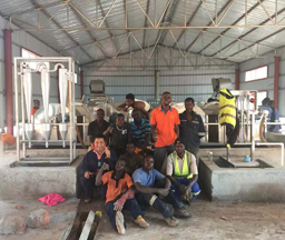 Zambia 200Tons/day Input Cassava Starch Processing Line