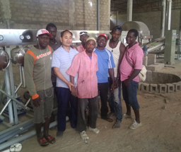 Gambia 30Tons/day Input Tapioca Starch Processing Plant