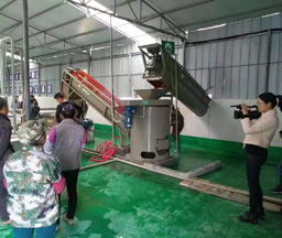 China 30Tons/day Sweet Potato Starch Processing Line